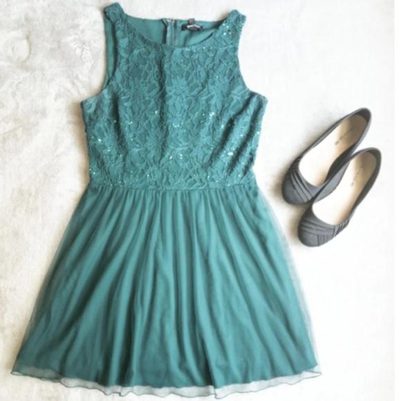 Speechless Dresses & Skirts - Kohl's- Junior Sequins Lace Dress